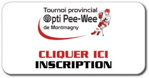 inscription tournoi provincial pee-wee