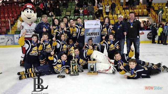 Champions A - Alliés1 de Montmagny-L'Islet