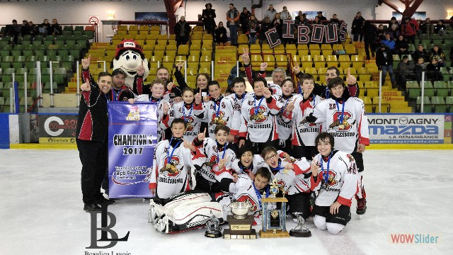Champions C - Caribous de Charlesbourg